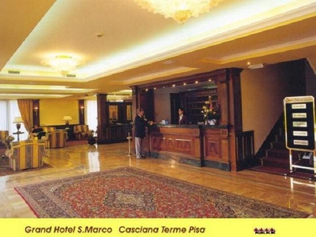 Hotel casciana terme hall e reception oscar dalan design for Dalan hotel