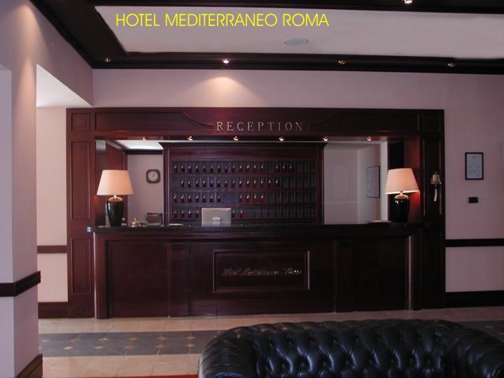 Hotel mediterraneo reception oscar dalan design for Dalan hotel
