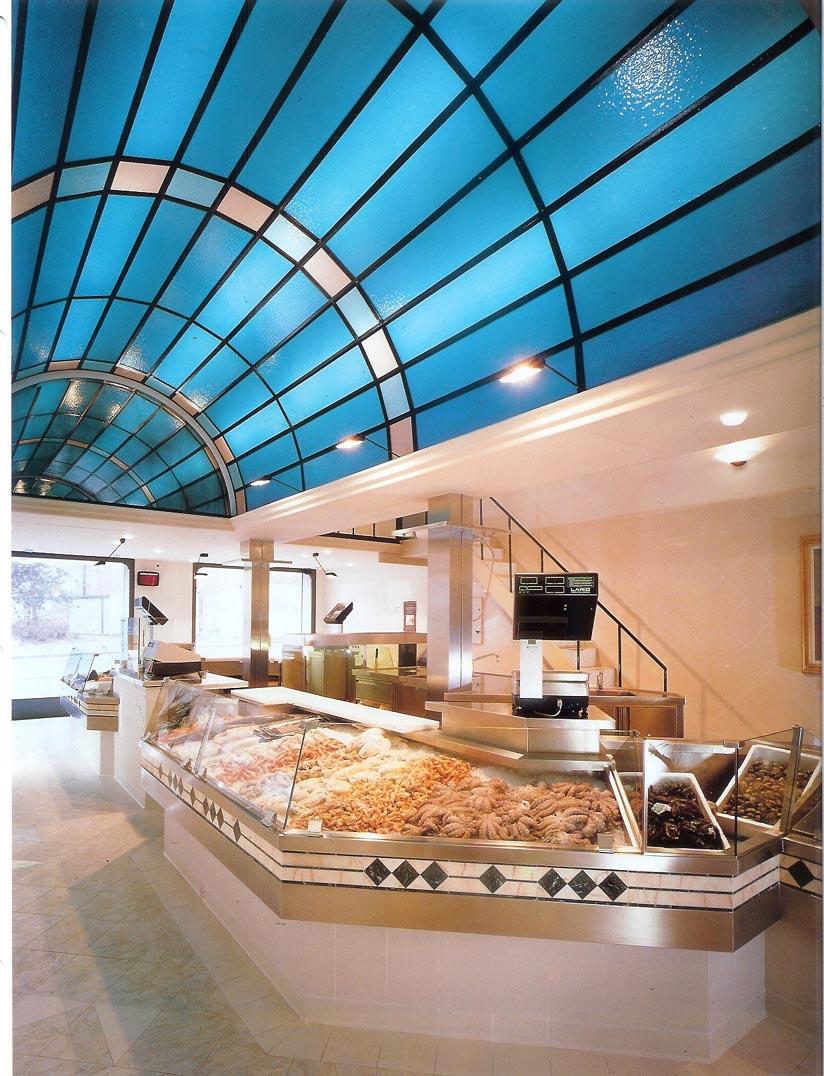 Pescheria oscar dalan design for Dalan hotel