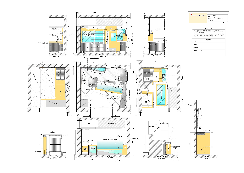 progetto pasticceria  u00ab oscar dalan design