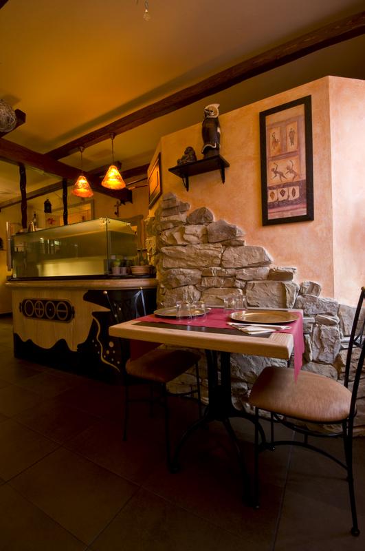Pizzeria 3 oscar dalan design for Dalan hotel